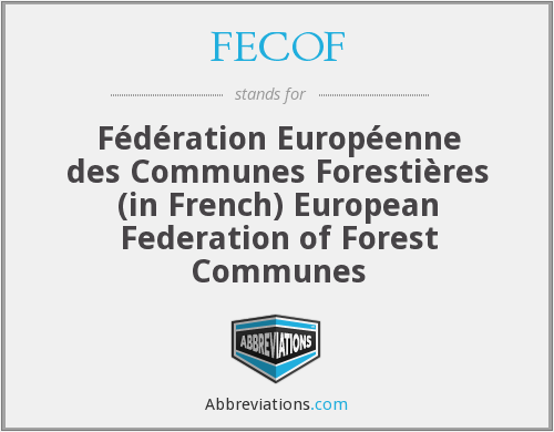 What does FECOF stand for?