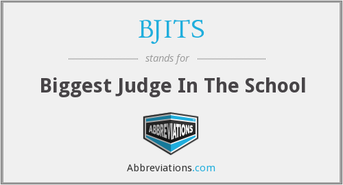 What does BJITS stand for?
