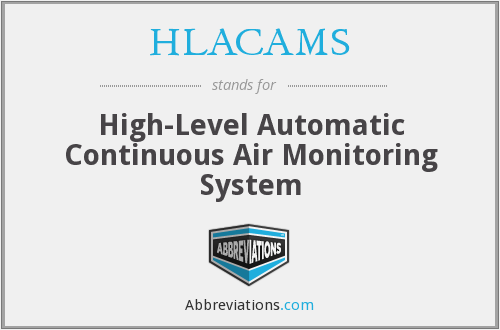 What does HLACAMS stand for?