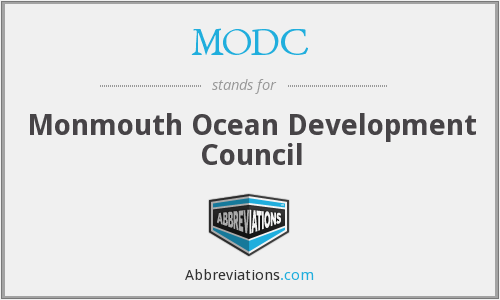 What does MODC stand for?
