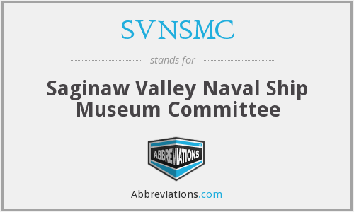 What does SVNSMC stand for?