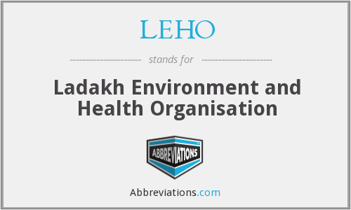 What does LEHO stand for?
