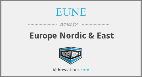 What does EUNE stand for?