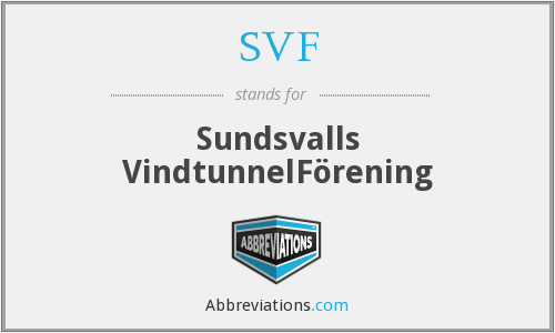 SVF - Sundsvalls VindtunnelFörening