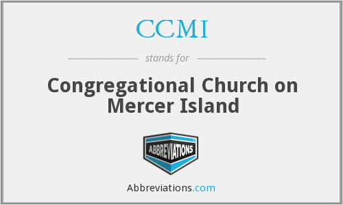 CCMI - Congregational Church on Mercer Island