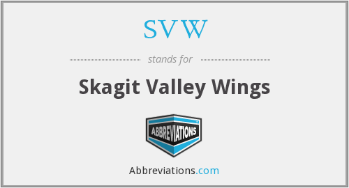 SVW - Skagit Valley Wings