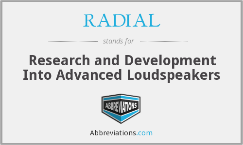 What does RADIAL stand for?