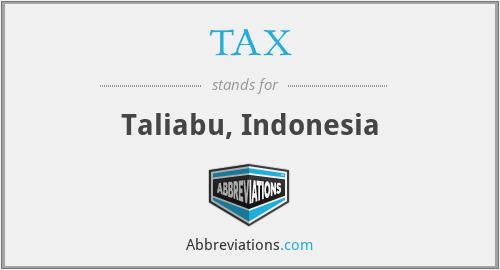 TAX - Taliabu, Indonesia