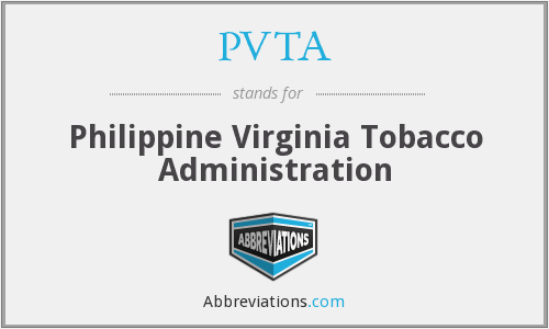 What does PVTA stand for?