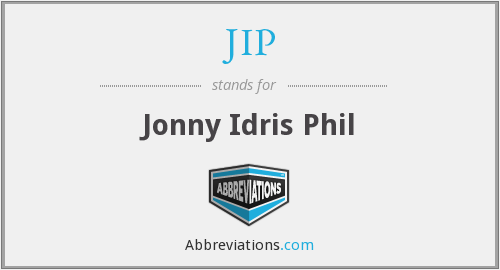 JIP - Jonny Idris Phil