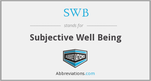 What does SWB stand for?