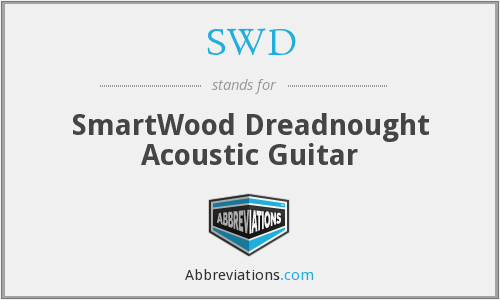 SWD - SmartWood Dreadnought Acoustic Guitar