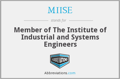 What does MIISE stand for?