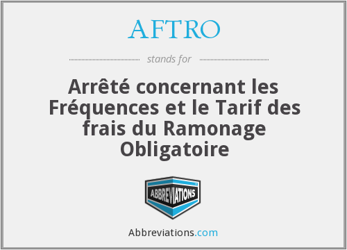 What does AFTRO stand for?