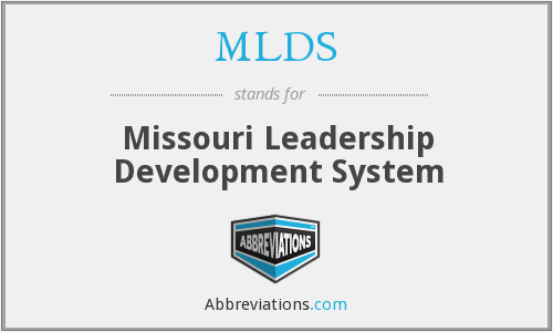 MLDS - Missouri Leadership Development System