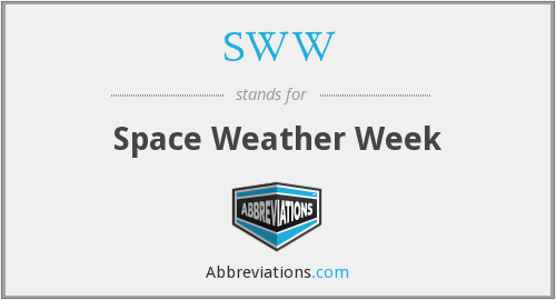SWW - Space Weather Week