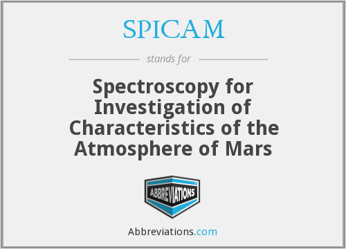 What does SPICAM stand for?