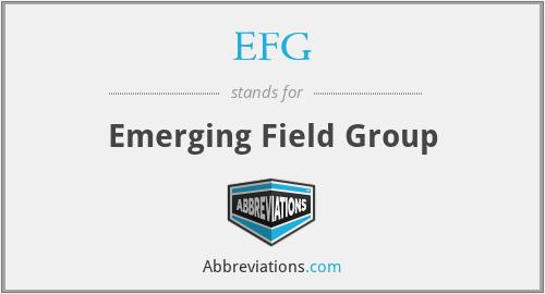 EFG - Emerging Field Group