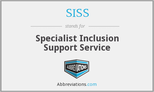What does SISS stand for?