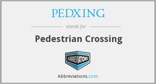 What does PEDXING stand for?