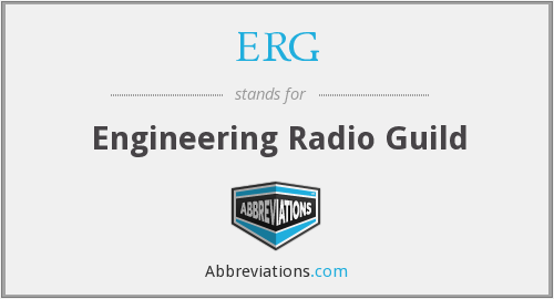 ERG - Engineering Radio Guild