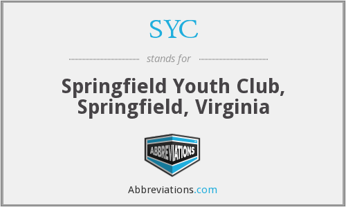 SYC - Springfield Youth Club, Springfield, Virginia