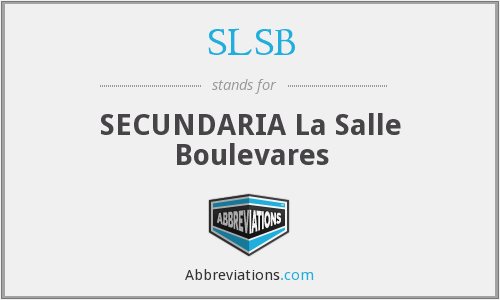 What does SLSB stand for?