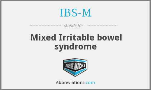 What does IBS-M stand for?