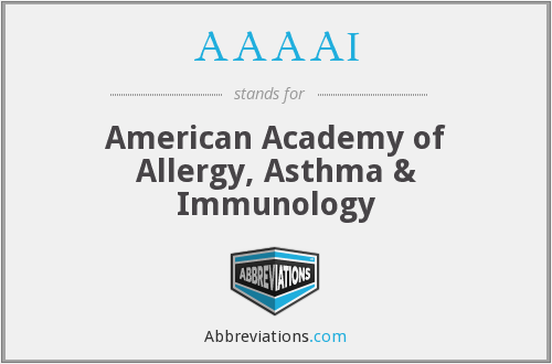 AAAAI - American Academy of Allergy, Asthma & Immunology