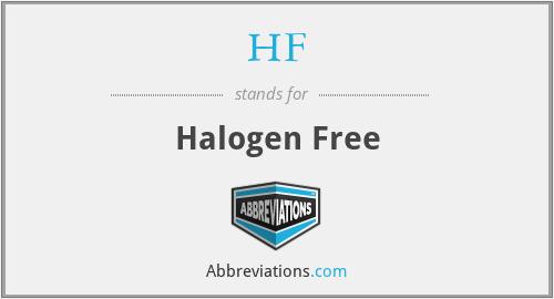 HF - Halogen Free