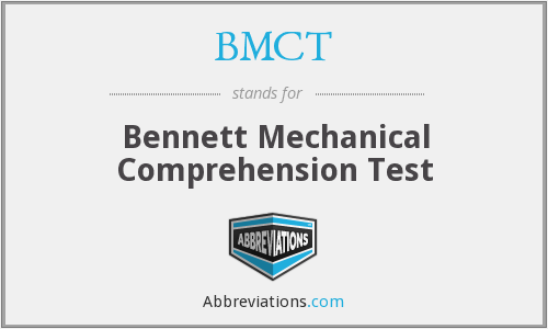 What does BMCT stand for?
