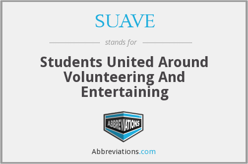 SUAVE - Students United Around Volunteering And Entertaining