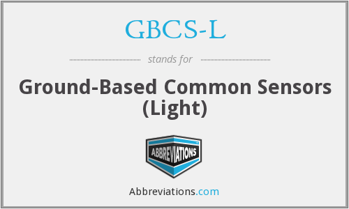 What does GBCS-L stand for?
