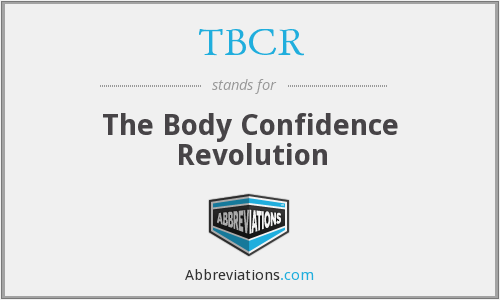 TBCR - The Body Confidence Revolution