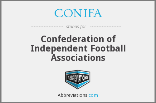 What does CONIFA stand for?