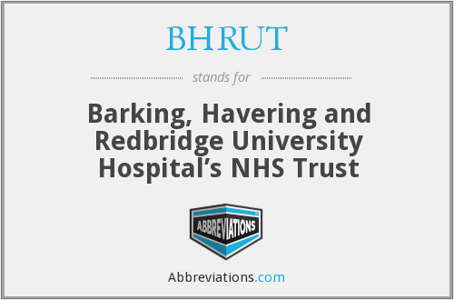 What does BHRUT stand for?