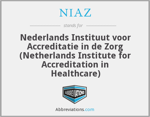 What does NIAZ stand for?