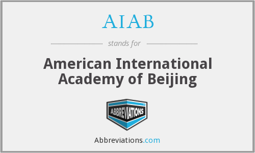 AIAB - American International Academy of Beijing