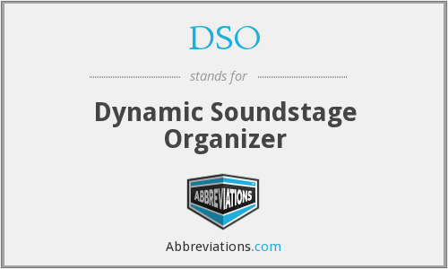 DSO - Dynamic Soundstage Organizer