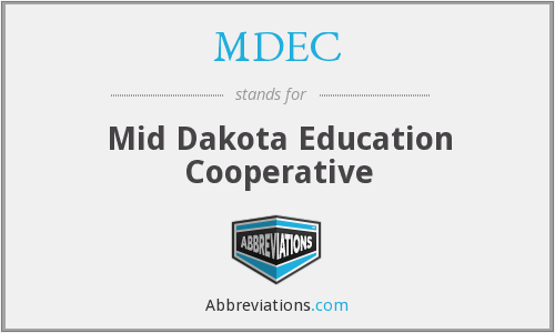 What does MDEC stand for?