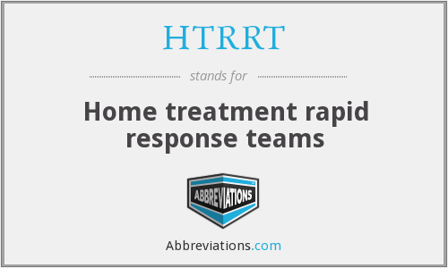 What does HTRRT stand for?