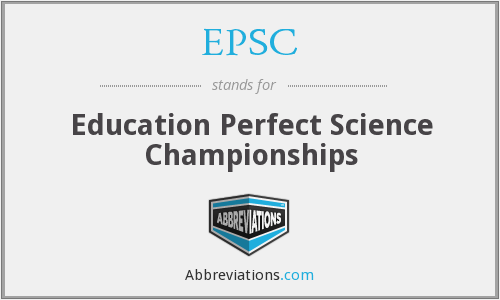 EPSC - Education Perfect Science Championships