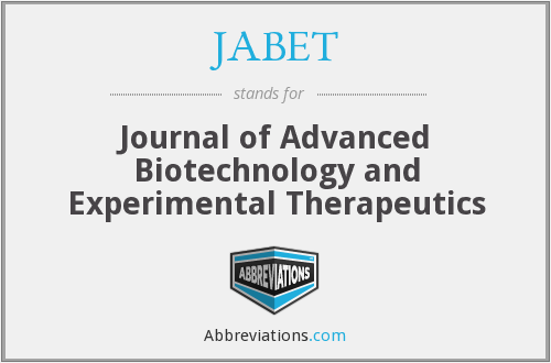 What does JABET stand for?