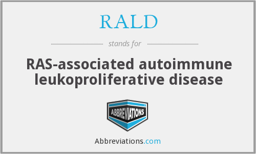 What does RALD stand for?