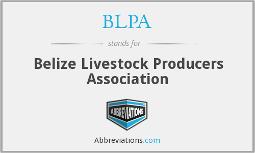 What does BLPA stand for?