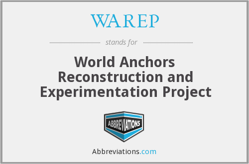 What does WAREP stand for?