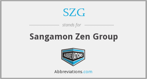 SZG - Sangamon Zen Group