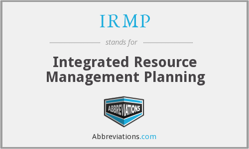 What does IRMP stand for?