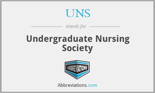 UNS - Undergraduate Nursing Society