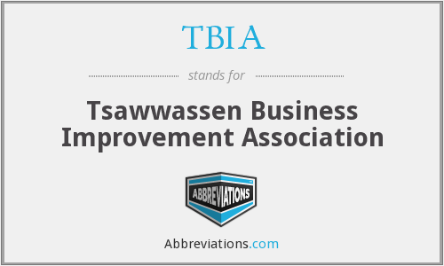 TBIA - Tsawwassen Business Improvement Association
